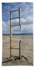 Stairway To Heaven Beach Towel by Richard Brookes