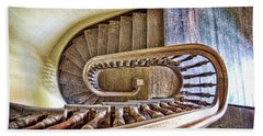 Stairway To The Past / Stairway To The Future Beach Towel
