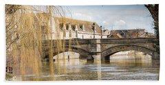 Stamford Town Bridge Beach Towel