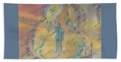Standing At The Crossroads Beach Towel