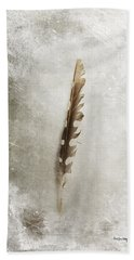 Standing Feather Beach Towel
