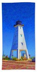 Standing Proud Lighthouse Beach Sheet