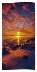 Beach Towel featuring the photograph Standing Stilled by Phil Koch