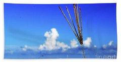 Beach Sheet featuring the photograph Standing Tall by Gary Wonning