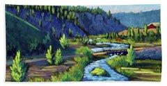 Stanley Creek Beach Towel
