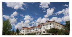 Stanley Hotel Beach Towel