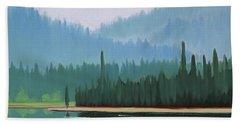 Stanley Lake - Far Shore Beach Towel