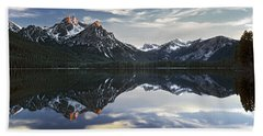 Stanley Lake Beach Towel