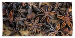 Star Anise Beach Towel