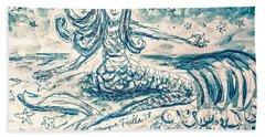 Star Bearer Mermaid Beach Towel
