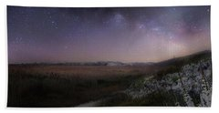 Beach Sheet featuring the photograph Star Flowers Square by Bill Wakeley
