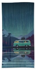 Star Light Vanlife Beach Towel