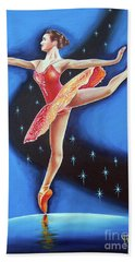 Star Night Beach Towel