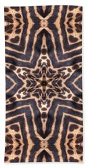 Star Of Cheetah Beach Towel