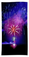 Beach Towel featuring the photograph Star Of The Night by Az Jackson