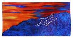 Star On The Mountain Beach Sheet