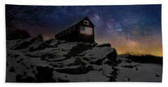 Beach Sheet featuring the photograph Star Spangled Banner by Bill Wakeley