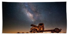Star Struck Truck  Beach Towel