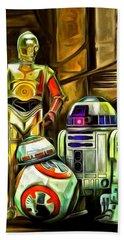 Star Wars Droid Family Beach Towel