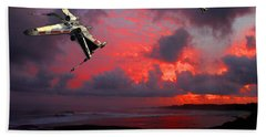 Star Wars X-wing Fighter Beach Towel