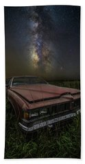 Beach Sheet featuring the photograph Stardust And Rust - Pontiac by Aaron J Groen