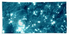 Starfield Reflection Photograph Beach Towel