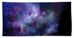 Starlight Beach Towel by Christy Ricafrente