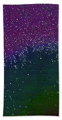 Starlight Through Trees Beach Sheet by Matt Lindley