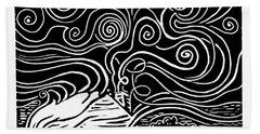 Starry Cabin Beach Sheet