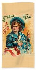 Starry Flag Cover Abc Book Beach Sheet