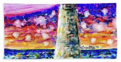 Starry Light Beach Towel