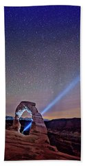 Starry Night Pointer Beach Towel