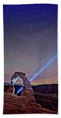 Starry Night Pointer Beach Sheet