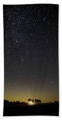 Starry Sky Over Virginia Farm Beach Sheet