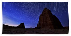 Stars Above The Moon Beach Towel by Chad Dutson
