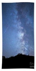 Stars And A Meteor Beach Towel