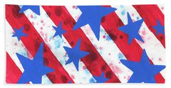 Stars And Strips  Beach Towel