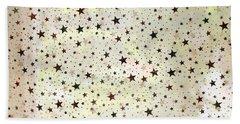 Beach Towel featuring the photograph Stars On Light by Nareeta Martin