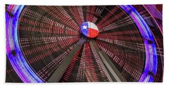 State Fair Of Texas Ferris Wheel Beach Sheet