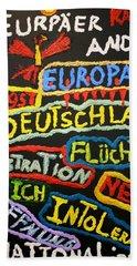 State Of Europe Beach Towel