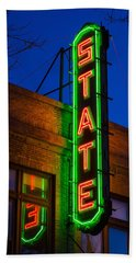 State Theatre - Ithaca Beach Towel