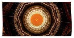 Statehouse Dome-new Jersey Beach Towel