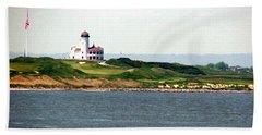 Staten Island Beach Towel by Judi Saunders