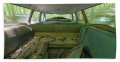 Station Wagon In Color Beach Towel