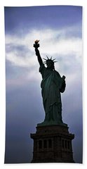 Statue Of Liberty May 2016 Beach Towel