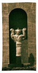 Statues Individual #1 Beach Towel