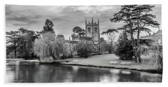 Beach Towel featuring the photograph Staunton Harold Church by Nick Bywater