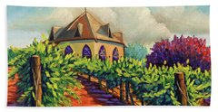 Ste Chappelle Winery Beach Towel