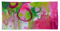 Beach Towel featuring the painting Steal My Breath by Tracy Bonin