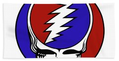 Steal Your Face Beach Towel